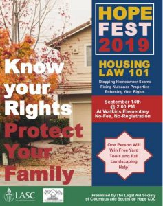 Housing Law 101 Workshop