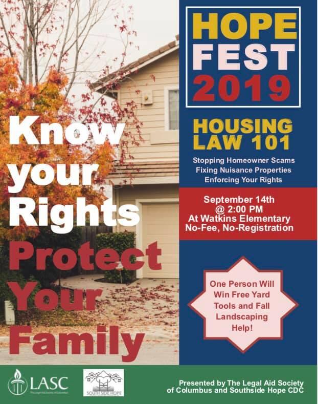 Housing Law 101 Workshop